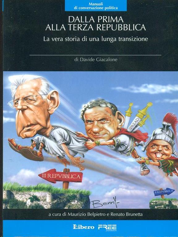 Book Cover: Dalla prima alla terza Repubblica