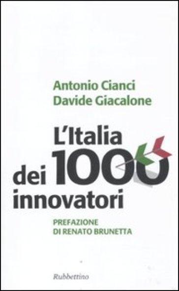 Book Cover: L'Italia del 1000 Innovatori